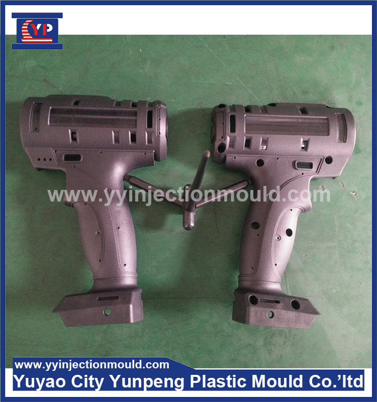 Convenient Comfortable Electrical Tools Handle Plastic Injection Mould (with video)