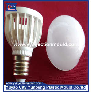 Factory made multi cavity co-injection plastic moulding plus aluminum die casting base for LED lighting bulb (From Cherry)