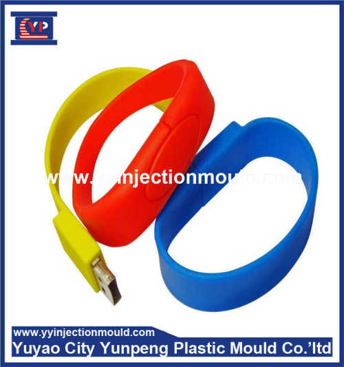 popular colorful Silicone bracelet moulding Production Manufacturer costomized designs Plastic Injection (From Cherry)