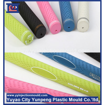 Rubber injection GOLF madam grips OEM mold (with video)
