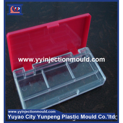 Plastic injection mould to make portable powder box (from Tea)