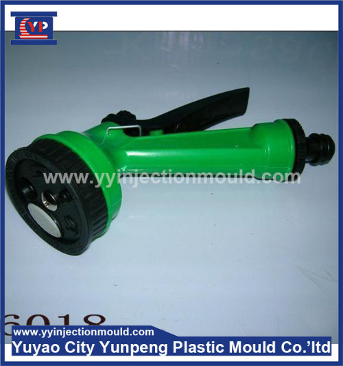 adjustable garden water hose spray nozzle high pressure injection mould (with video)