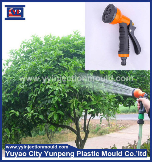 Injection Plastic Garden Water Spray Gun Mould (with video)