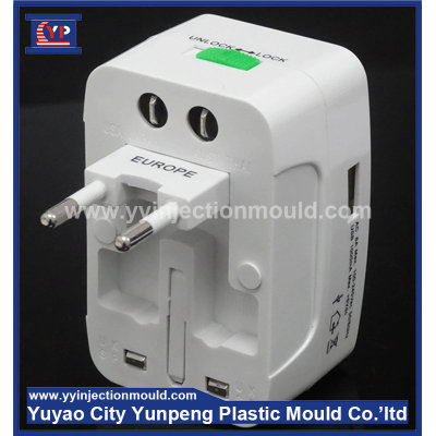 OEM usb adaptor custom new brand usb adaptor plastic cover mould(with video)