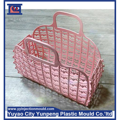 Injection plastic basket mold (with video)
