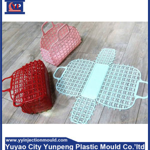 custom mold design plastic mould maker for storage basket (with video)