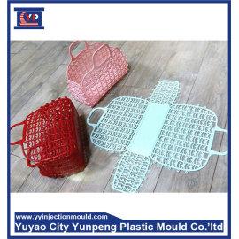 custom mold design plastic mould maker for storage basket (with video)