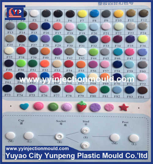 High precision button mould, custom clothes button molding, plastic button products  (From Cherry)