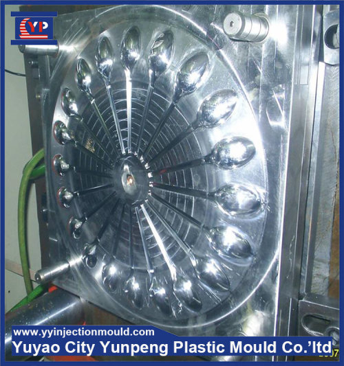Hot runner disposable spoon Mould plastic tableware mould (Amy)