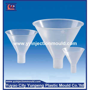 Zhejiang custom make injection plastic funnel mould manufacturer  (From Cherry)