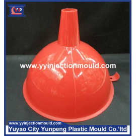 OEM Plastic Injection Mould For Transparent Funnel Parts and Colourful Hopper (From Cherry)