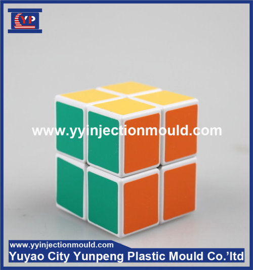 Hot Selling Fashion Colorful plastic Magic Cubes/ plastic injection mould (from Tea)