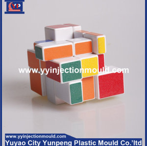 plastic intelligence folding magic cube for children (from Tea)