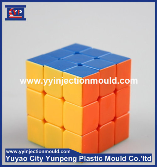 Good Service and High Quality Plastic injection rubik cube mold manufacturer (from Tea)