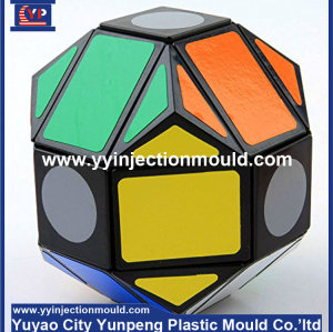 rubik cube mold prototype manufacturing /plastic injection mould (from Tea)