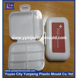 Custom EU standard plastic pill box injection mold manufacturer (from Tea)