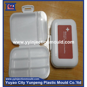Custom EU standard plastic pill box injection mold manufacturer (from Tea)