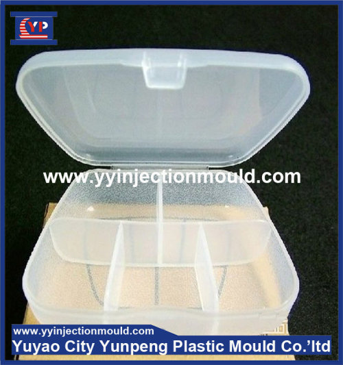 Factory price and professional 7 days color pill box plastic mold (from Tea)