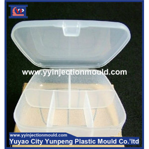 Manufacturing Factory Pill Box Plastic Injection Mold of Medical Parts (from Tea)