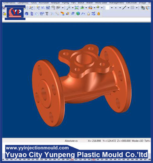 PP shell toys car/game handle mould (Amy)