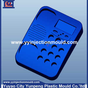 Custom fax machine/telephone case /housing/shell plastic injection mold (From Cherry)