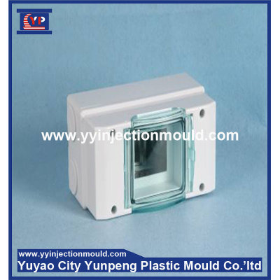 The electrical distribution box plastic mold design and production to develop mold (from Tea)