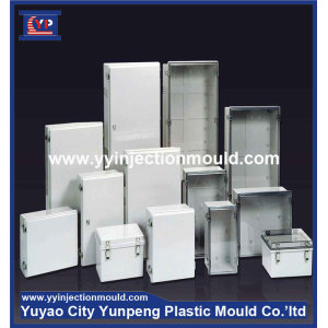 Plastic injection outdoor electrical distribution box mould (from Tea)