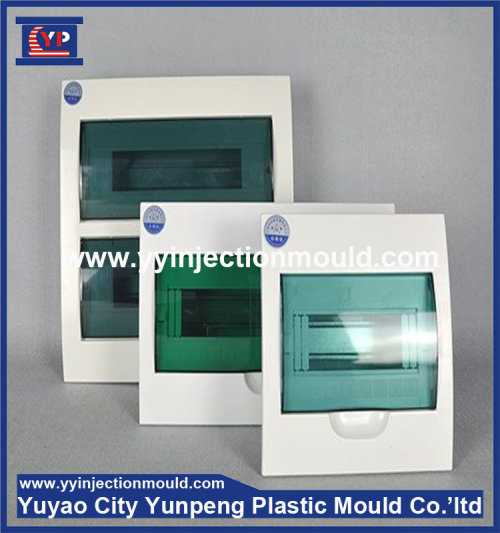 Plastic injection mould for Gray Fiber Optic Distribution Box (from Tea)