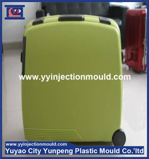 Good quality injection plastic luggage mould, plastic mold making,cheap plastic injection molding (from Tea)