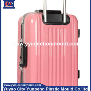 New designing plastic telescopic handle luggage mould supplier (from Tea)