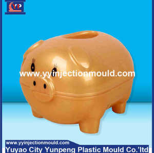 Export high quality precision plastic money box injection mould   (From Cherry)