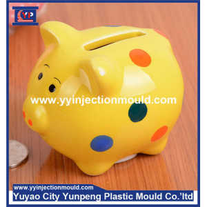 plastic Kids piggy bank mould injection mould  (From Cherry)