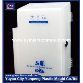 Excellent quality injection moulding plastic suggestion box mould (from Tea)