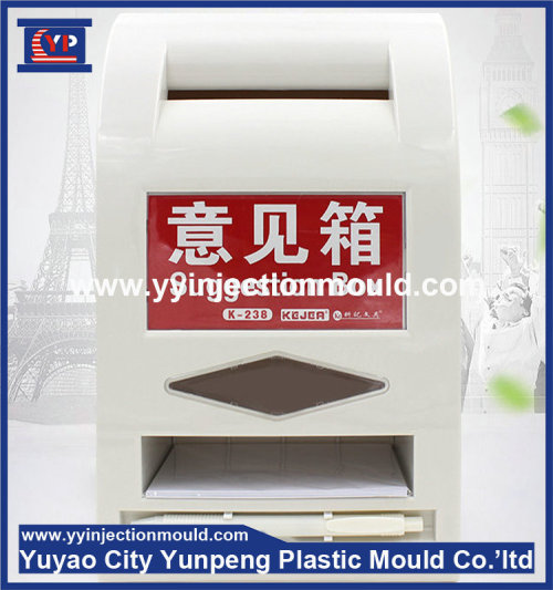 Plastic molding for plastic complaint box mould (from Tea)