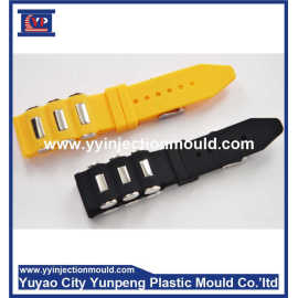 Custom Plastic Injection Molding Silicone TPU Children Watch Band Mould(From Cherry)