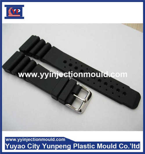 2017 new products for rubber Silicone watch band strap in China Plastic parts manufacturer (From Cherry)