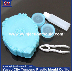clear plastic box / contact lens case/box/container mould (from Tea)