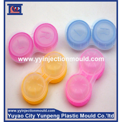 Plastic injection contact lens box case parts mould and products (from Tea)