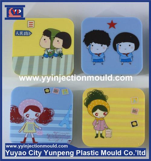 wholesale cute plastic custom animal contact lens case mold (from Tea)