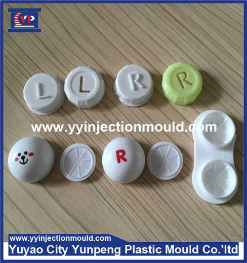 Plastic injection contact lens box case parts mould and products  (From Cherry)