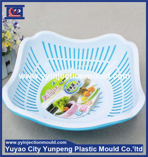 New Design High Quality Household Products Plastic Injection Fruit Tray Mould (from Tea)