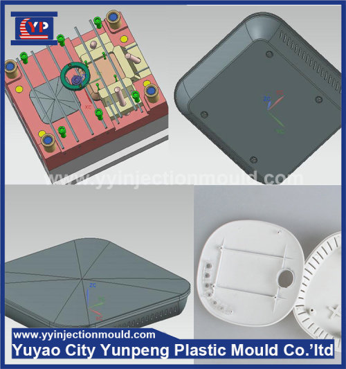 ABS/PP/PC Router housing/shell/enclosure 1+1 plastic injection family mold maker