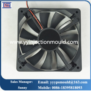 6 inch 7 inch fan CPU chassis cooling fans ABS material custom precision injection fan blade plastic moulding