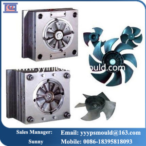 plastic fan parts customed design domestic appliance injection plastic moulds