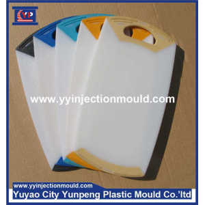 Reasonable price with various colors of plastic cutting fruits/vegetables board injection mold(From Cherry)
