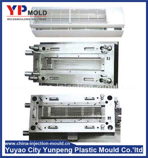 air conditioner housing plastic spare parts costomized designs plastic injection mould making (from Tea)