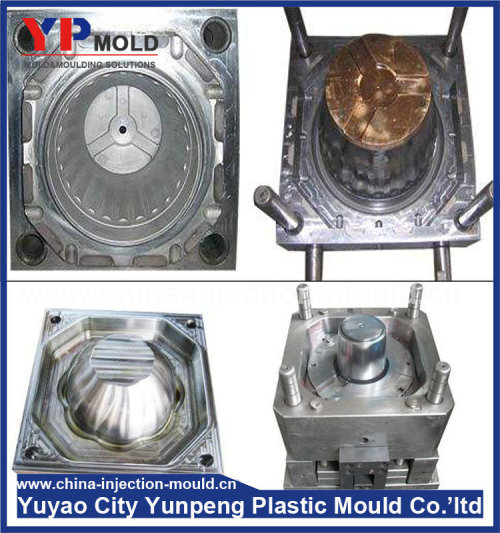 Custom Design Injection mould Product and Plastic Injection Mould Shaping Mode flowerpot mold and plastic pot molding  (from Tea)