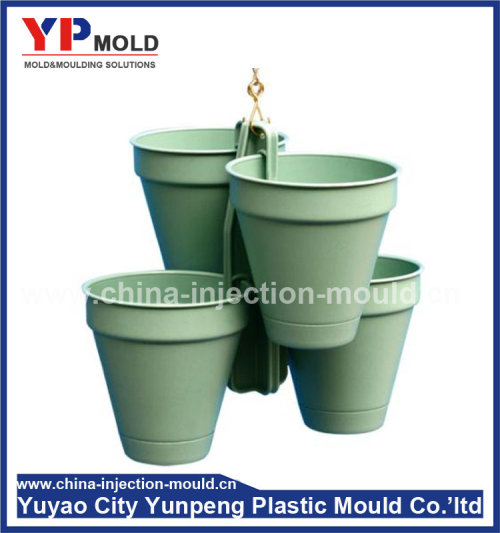 customer design plastic flowerpot moulding manufacture,plastic mold maker (from Tea)
