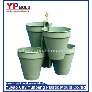 Decorative precast plastic flowerpot moulds for city building (from Tea)