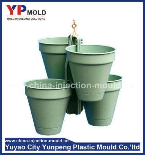 Decorative precast plastic flowerpot moulds for city building (from Tea)